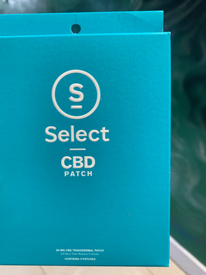 Select CBD Patch 3 pack