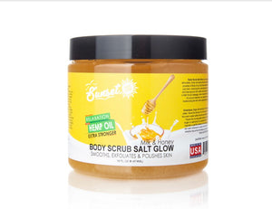 Sunset CBD Body Scrub Salt Glow