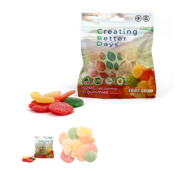 Nano-CBD Gummies Fruit Salad - 150 mg