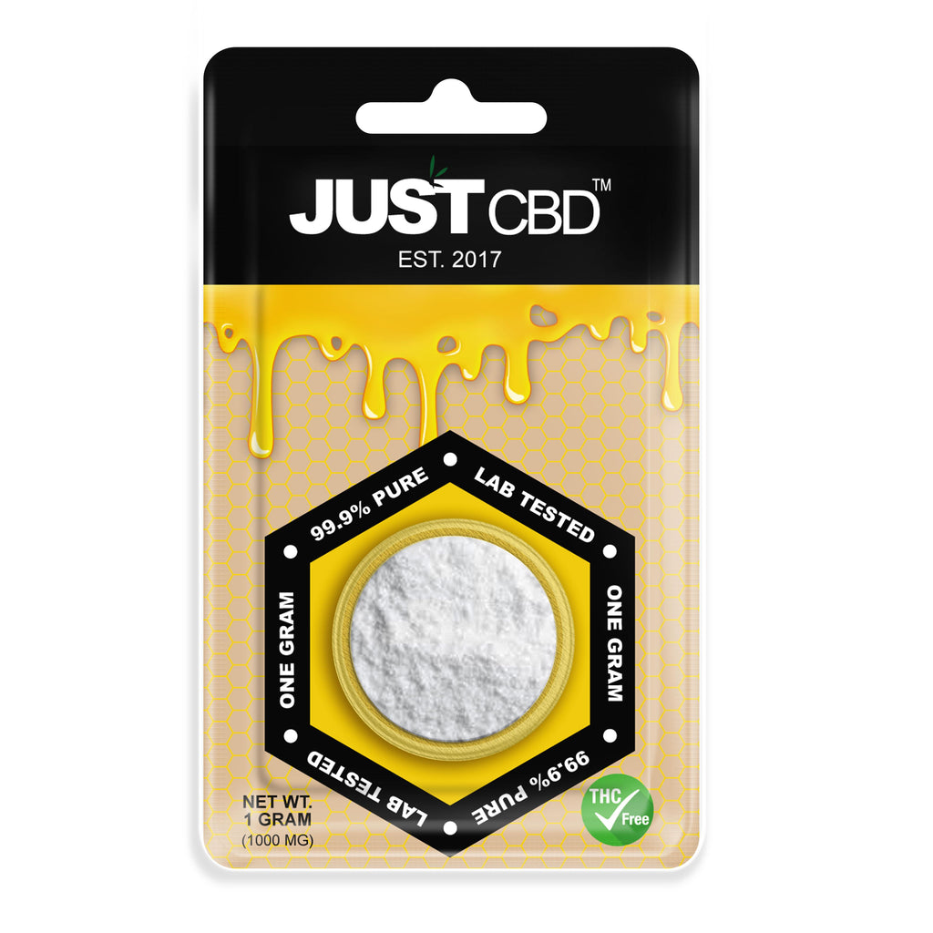 1G CBD Isolate Powder