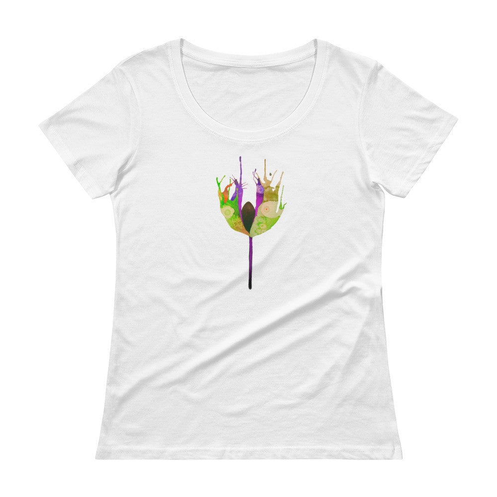 Botanical Ladies' Scoopneck T-Shirt