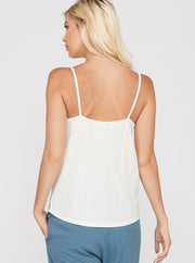 Babs Button Down Tank - Cloth + Cabin