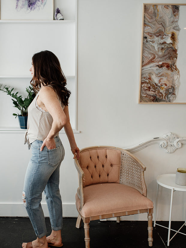 Erin Distressed Mom Jeans - Cloth + Cabin