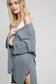 Alexis Roll Sleeve Cardigan - Cloth + Cabin