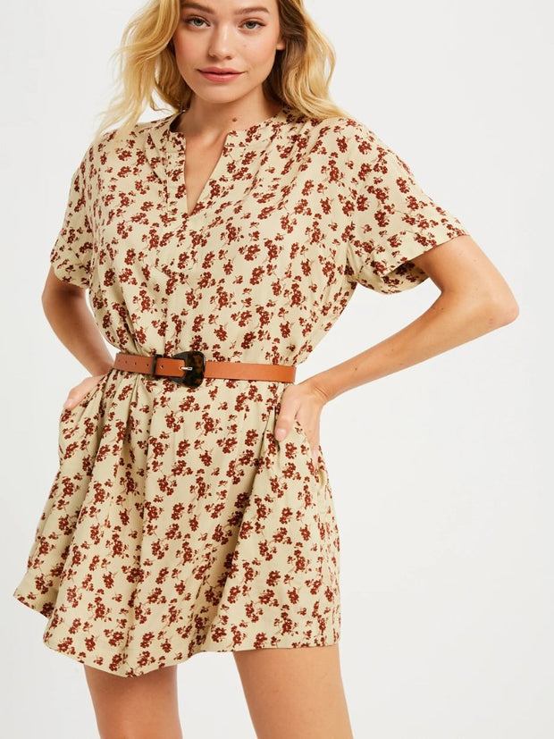 Cassidy Floral Print Dress - Cloth + Cabin