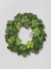 Fig Leaf Wreath - Cloth + Cabin