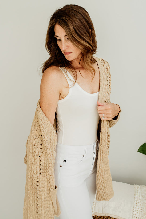 Tobey Chunky Knit Pocket Cardigan - Cloth + Cabin