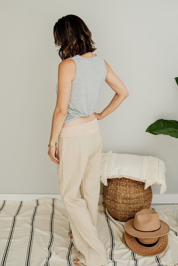 Jessica Fold Over Lounge Pants - Cloth + Cabin