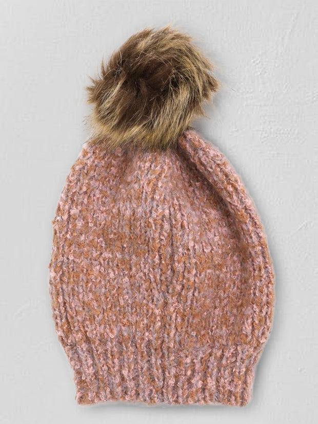 Winter Knit Pom Beanie