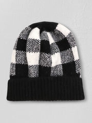 Checkered Plaid Beanie