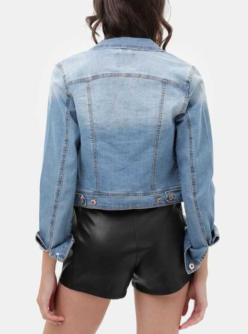 Sarah Lightwash Denim Jacket - Cloth + Cabin