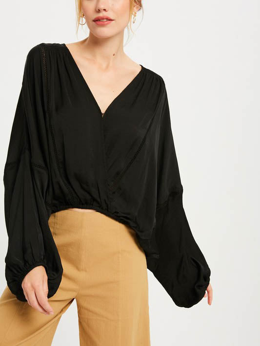 Eve Wrap Top