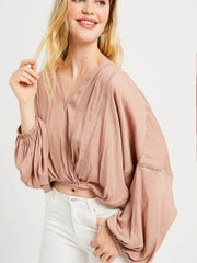 Eve Wrap Top - Cloth + Cabin