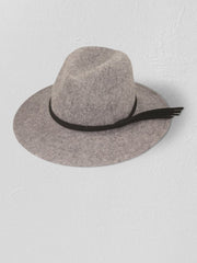 Wool Blend Classic Winter Fedora - Cloth + Cabin