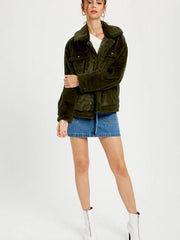 Juniper Soft Fur Jacket