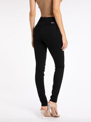 Gemma Black 5-Button Skinny Jean