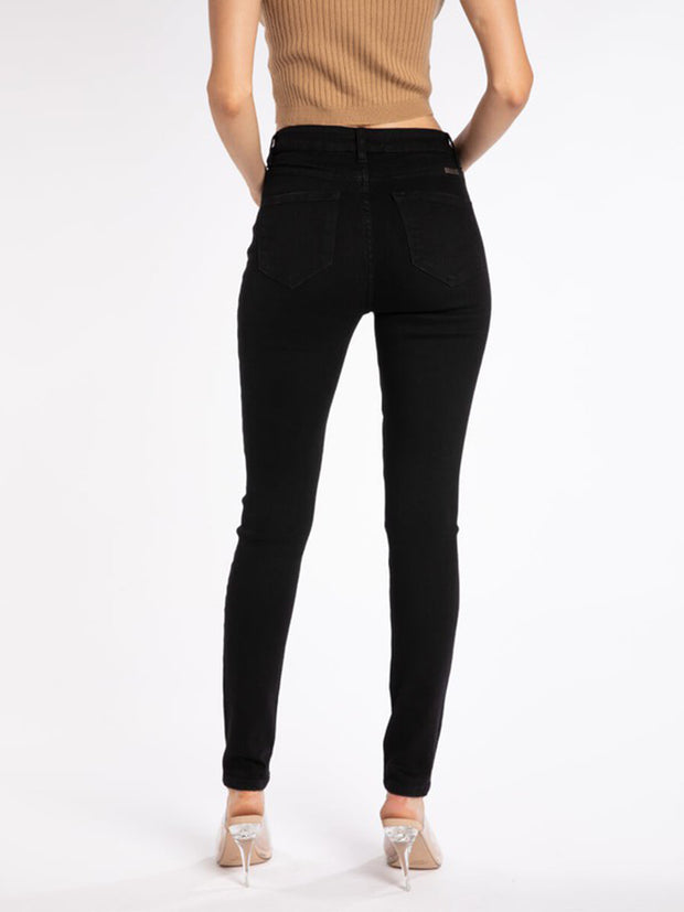 Gemma Black 5-Button Skinny Jean - Cloth + Cabin