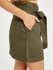 Merry Paperbag Tie Skirt - Cloth + Cabin