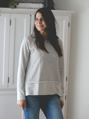 Alivia French Terry Sweatshirt - Cloth + Cabin