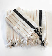 Silvia 100% Cotton Turkish Towel Throw