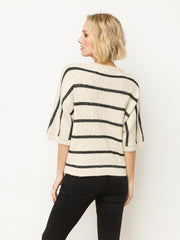 FINAL SALE - Jovie Striped Pullover