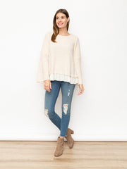 Noel Ruffle Sweater
