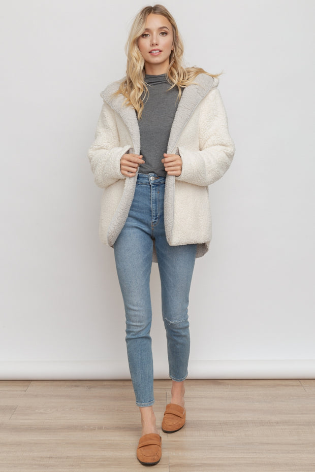Morgan Cozy Reversible Coat