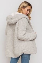 Morgan Cozy Reversible Coat - Cloth + Cabin
