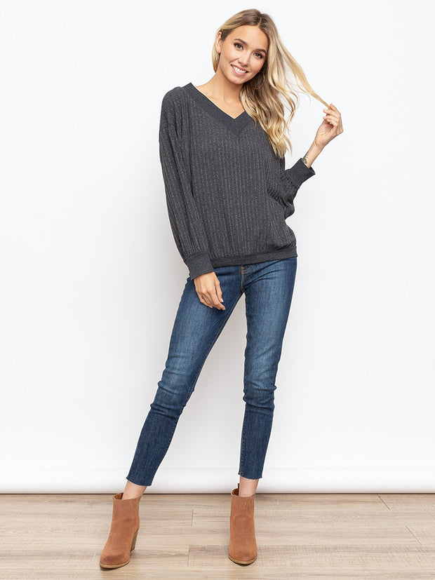Holly V-Neck Top - Cloth + Cabin