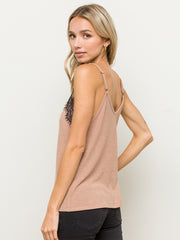 Ginger Lace Top Cami - Cloth + Cabin