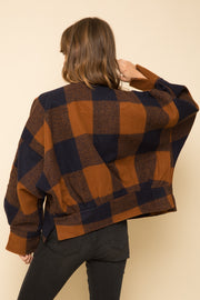 Anna Plaid Jacket - Cloth + Cabin