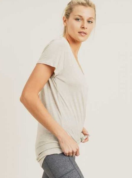 Everyday Scoop Neck Tee - Cloth + Cabin