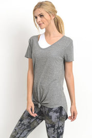 Everyday Scoop Neck Tee