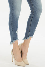 Monroe Frayed Hem Jean - Cloth + Cabin