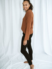 Russet Pullover Sweater