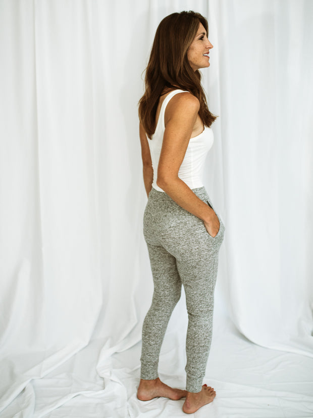 Layla Brushed Knit Joggers