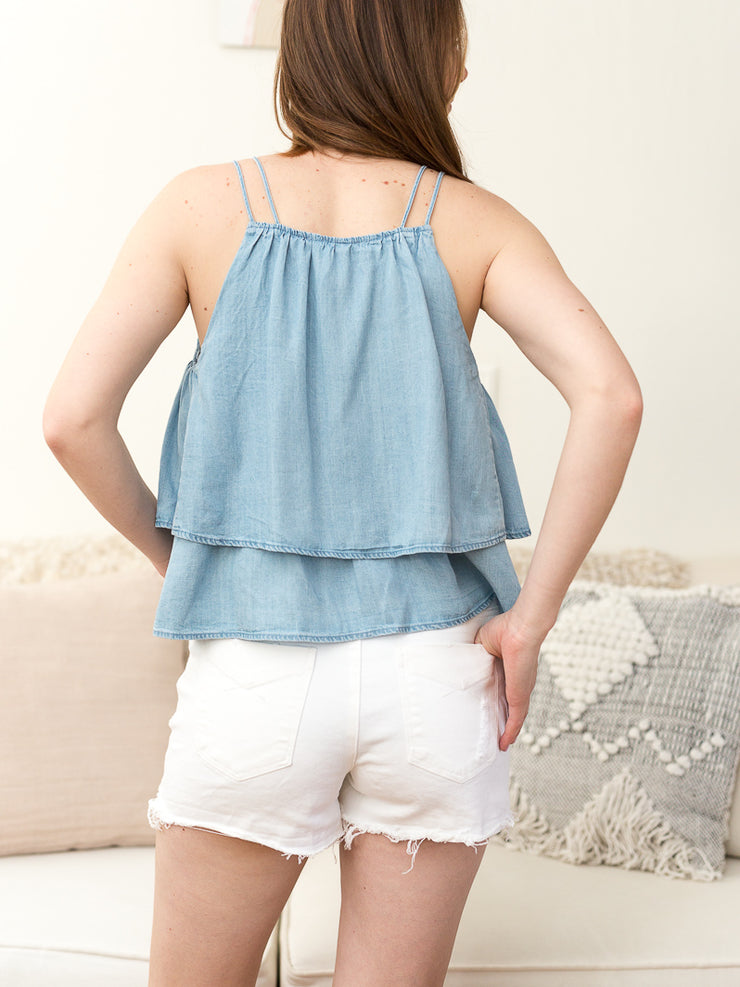 Stella / High Waisted Short - Cloth + Cabin