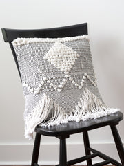 Clara Fringe Pillow / Ivory - Cloth + Cabin