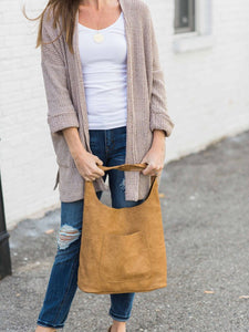Vegan Leather Hobo - Cloth + Cabin