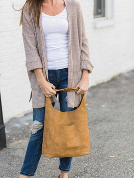 Lee Anne Vegan Leather Hobo - Cloth + Cabin