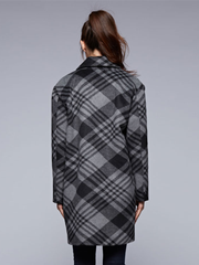 Stella Plaid Trench Coat - Cloth + Cabin