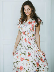 Madeline Floral Dress - Cloth + Cabin