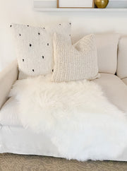 "Seraphina 24"" Cotton Tufted Cushion"