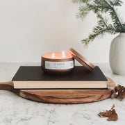 C+C Signature Candle / Copper Tin 2-Wick