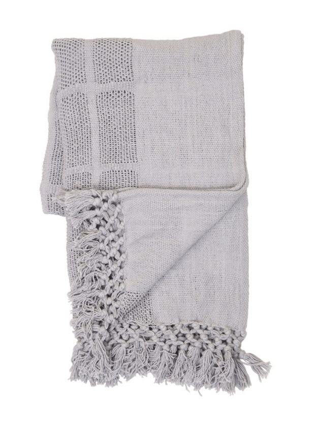 Bailey Hand Woven Throw - Cloth + Cabin