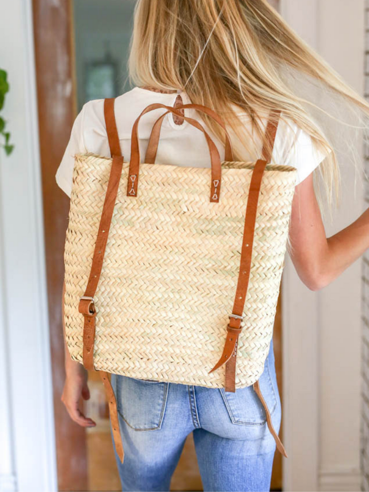Satchel Backpack - Cloth + Cabin