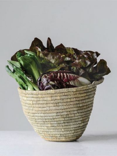Hand-Woven Moroccan Basket - Cloth + Cabin