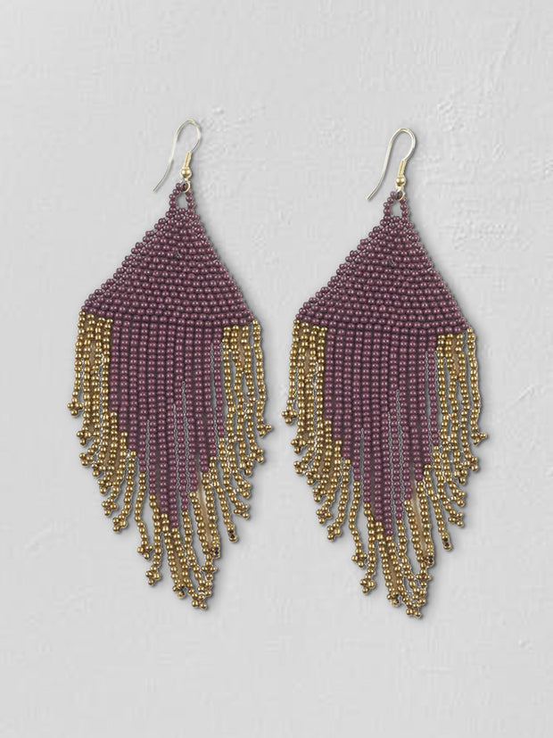 Harper Fringe Earrings - Cloth + Cabin