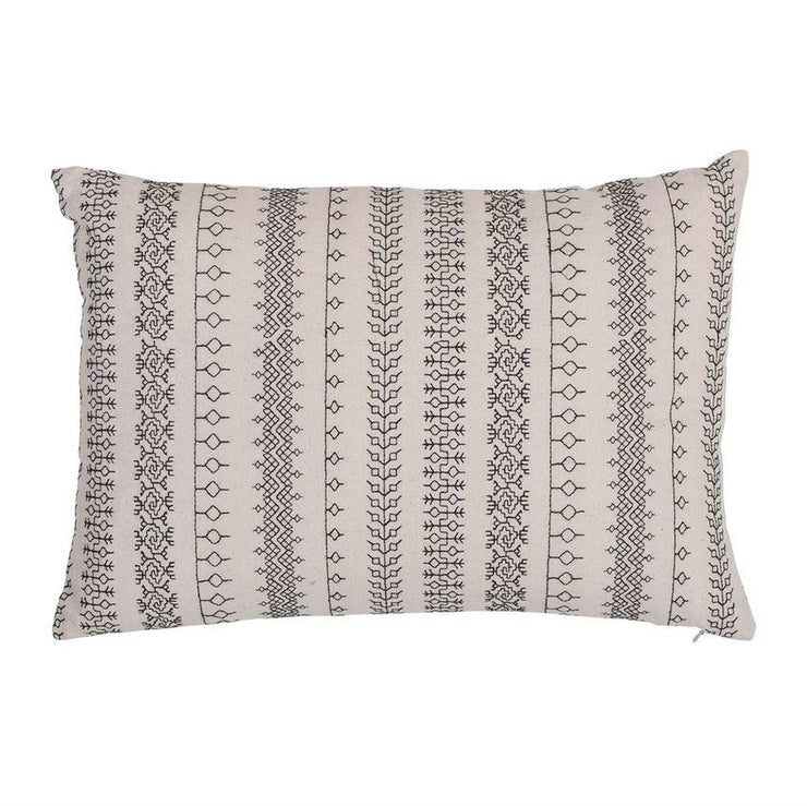 Savannah Embroidered Lumbar Pillow - Cloth + Cabin