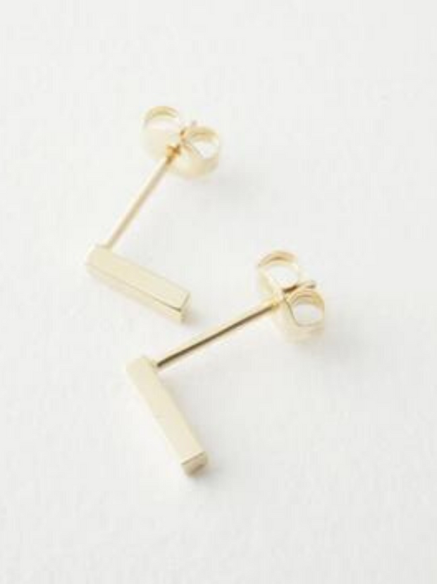 Midi Bar Earrings - Cloth + Cabin